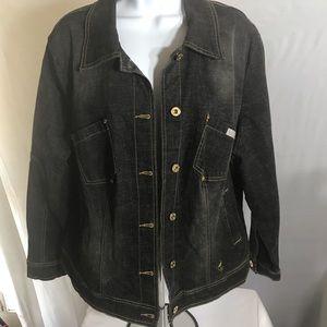 Vintage Baby Phat Jean Jacket 1X